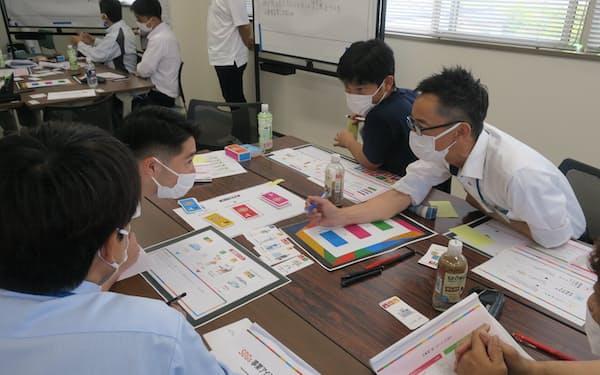 手数料ビジネスを増やすため、西日本シティ銀行はカードゲームを使ったSDGsのコンサルティング事業を始めた