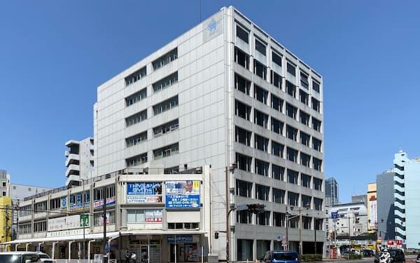 大成建設は既存のビルや工場のゼロエネ化に乗り出す(リニューアル第1弾の横浜支店ビル)