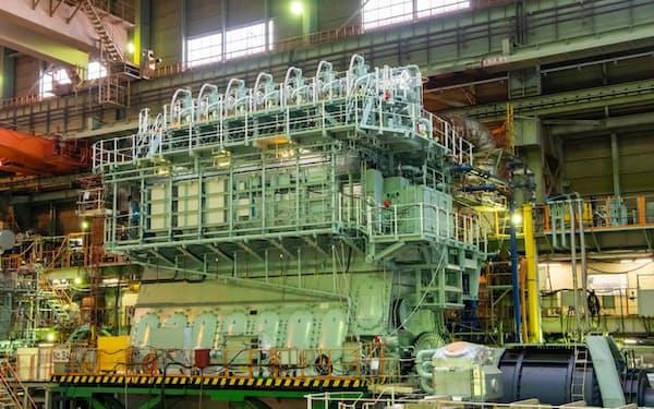 三井E&SHDは舶用エンジンで国内最大手