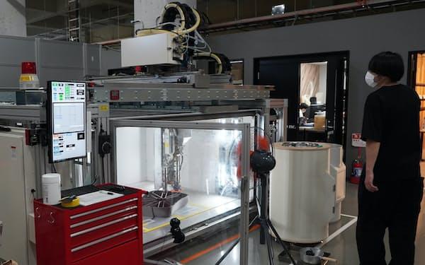 エクストラボールドは試作機を20年春に開発、改良を重ねてきた