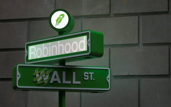 米ロビンフッドは個人投資家向けサービスの拡大に力を入れている=ロイター