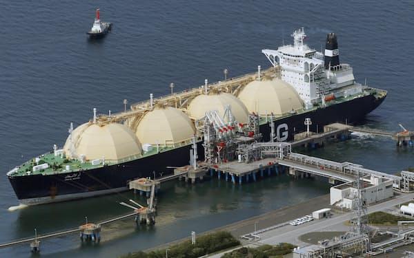 LNGのアジア市場のスポット価格は、夏場としては2012年以来の高水準だ
