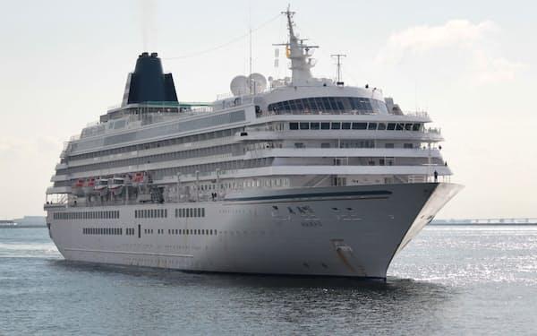 豪華客船「飛鳥Ⅱ」はコロナ禍で運航が制限されている