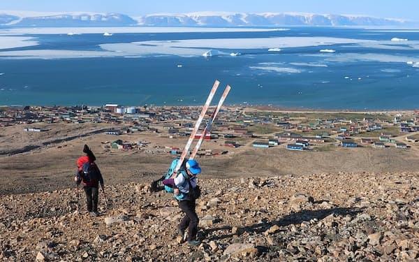 グリーンランドなど北極域で調査活動を続けてきた(北海道大・杉山慎氏提供)