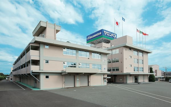 久光製薬は佐賀県から行政処分を受けた(佐賀県鳥栖市の九州本社)