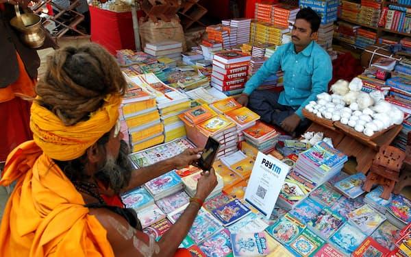 Paytmはインドのモバイル決済の草分け的な存在だ=ロイター