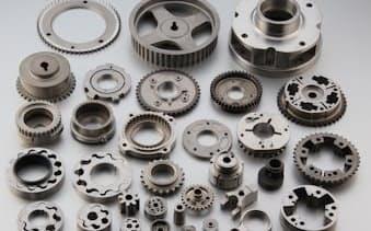 ダイヤメットが製造する自動車用部品