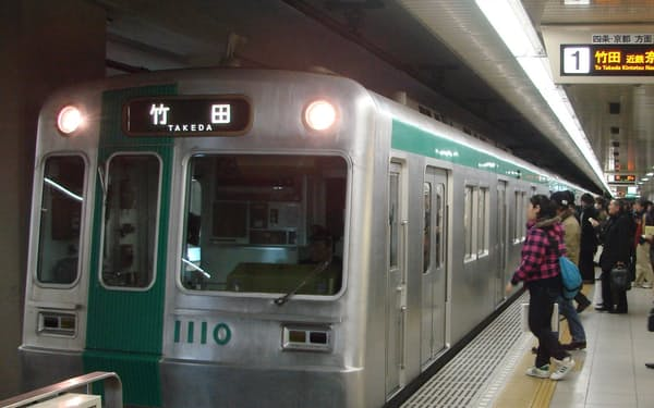 「経営健全化団体」となる京都市営地下鉄には経営改善のための計画策定が義務付けられる