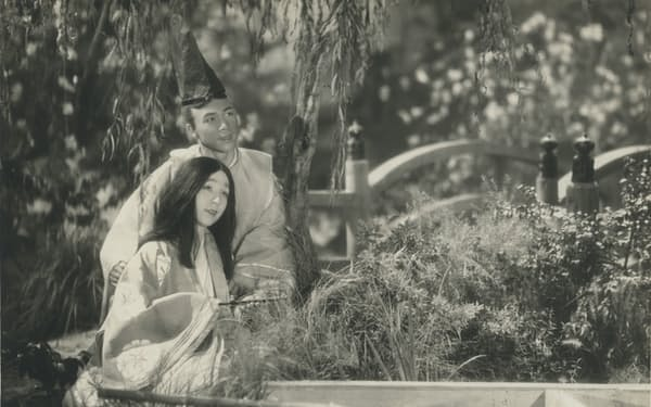 「かぐや姫」(1935年)の一場面=国立映画アーカイブ所蔵