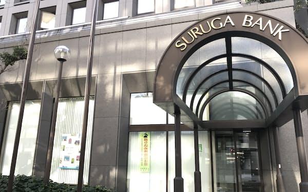 スルガ銀行の本店(静岡県沼津市)