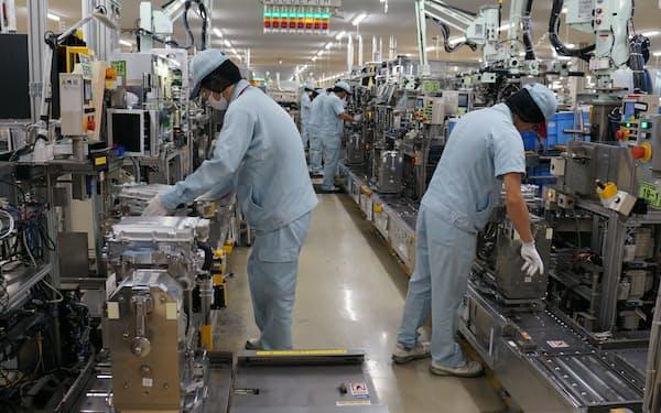 製造業の最終損益は新型コロナ禍前を上回った(デンソーの工場)