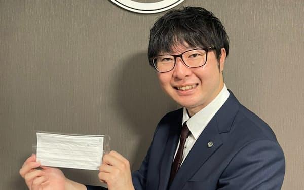 熊谷氏が起業したマーク商事は北海道で、ヤマシンフィルタからマスクを受託生産している