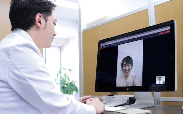 メドレーのオンライン診療システムは約2600件の医療機関に導入されている