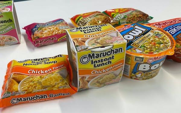 東洋水産が米国で販売する即席麺