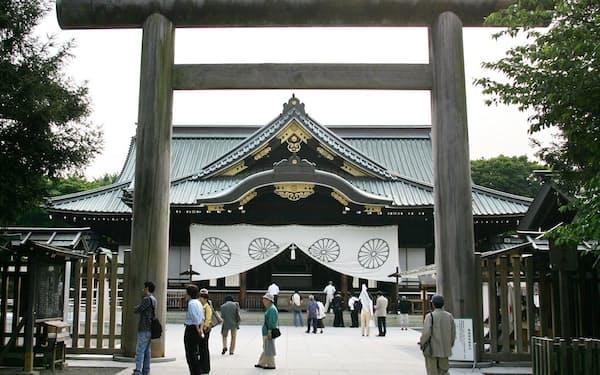 東京・九段北の靖国神社