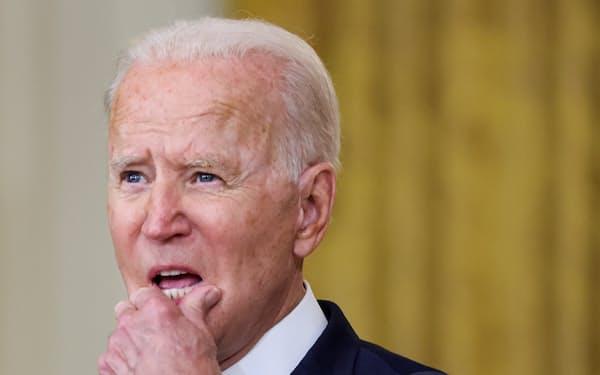 バイデン米大統領は副大統領を務めたオバマ政権下でもアフガニスタンからの撤収を主張した=ロイター