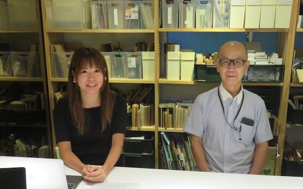 岩崎氏㊨は2機関を経たM&Aで、八須氏が社長を務めるottoを事業譲渡先として見いだした