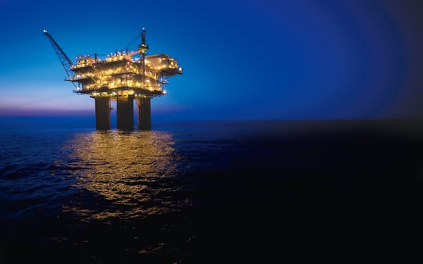BHPが権益を持つメキシコ湾の油田=同社提供