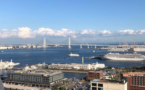 横浜市長選でIRに審判が下る(横浜港)