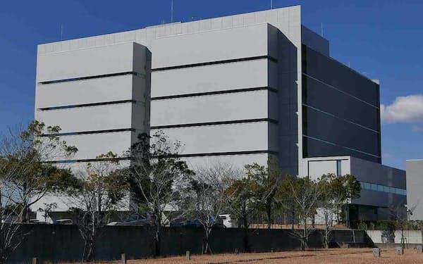 千葉県印西市にあるSCSKのデータセンター(出所:SCSK)