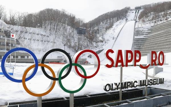 札幌市は30年の冬季五輪招致を目指している(札幌オリンピックミュージアム)