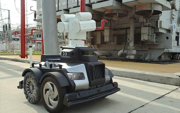 千巡科技は電力業界向けの巡回検査ロボットを手がける=同社提供