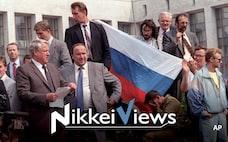 ソ連への郷愁、プーチン氏の支えに クーデター事件30年