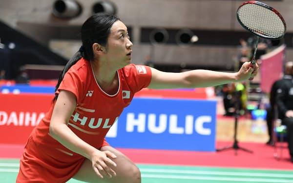 ヒューリック・ダイハツJAPAN パラバドミントン国際大会に女子シングルスで出場した鈴木亜弥子(2019年)