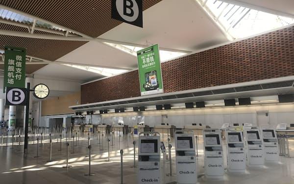 新千歳空港国際線の日本人出入国はゼロが続いている