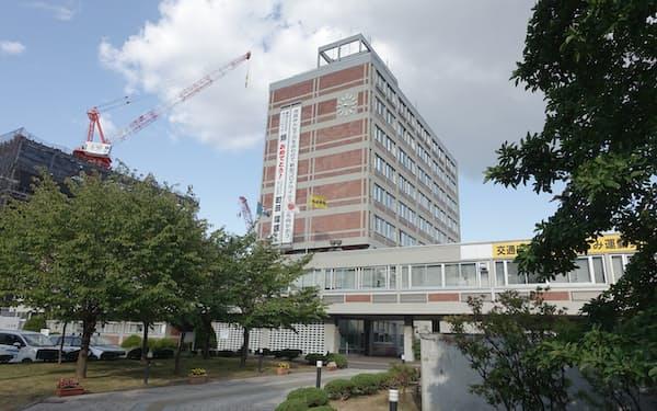 旭川市は北海道にまん延防止等重点措置の対象入りを求めていた(旭川市役所)