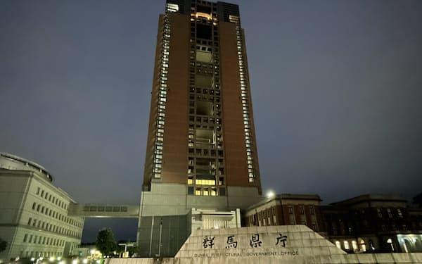 群馬県と栃木県では新規感染者数が18日に過去最多を更新した(前橋市の群馬県庁)