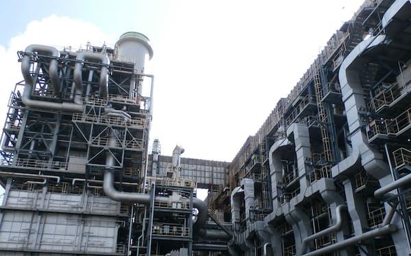 三菱ケミカル岡山事業所のエチレンプラント