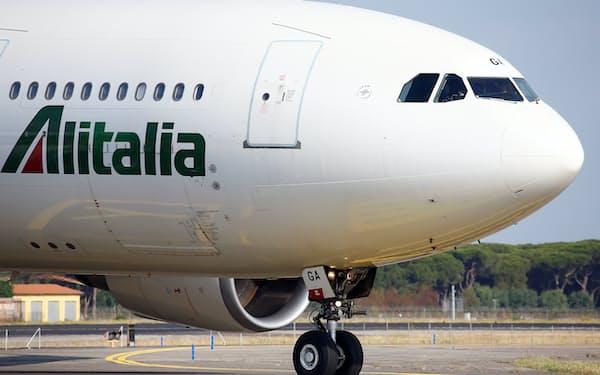 アリタリア航空の再建は迷走してきた=ロイター