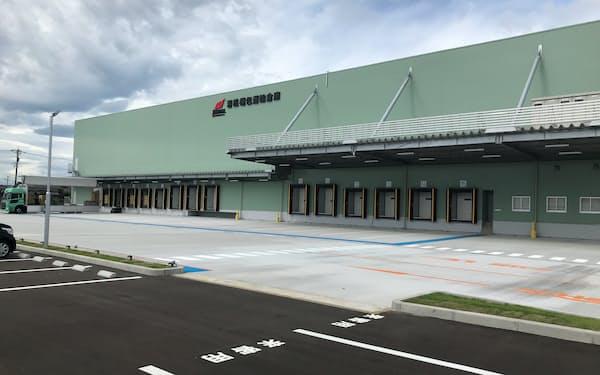 新しい倉庫は美川インター近くに立地する