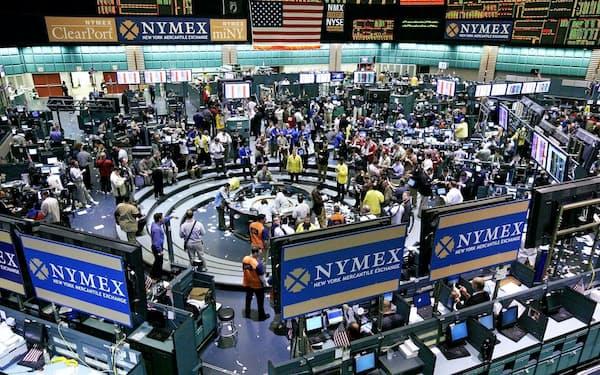 国際商品価格は需要と供給の動向をいち早く反映する(ニューヨーク・マーカンタイル取引所)