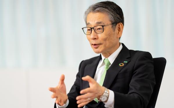 野村社長は自社をiPS細胞の医療応用でトップランナーと位置づける