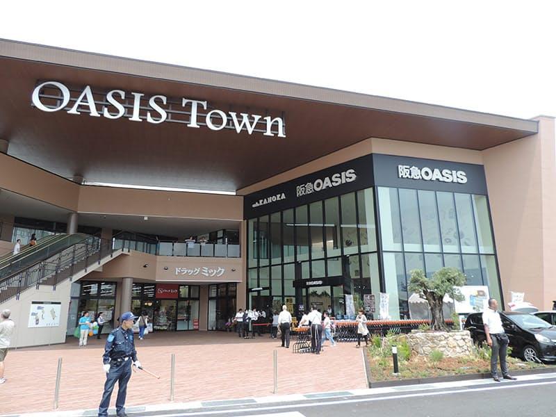 H2Oは関西圏で高級スーパーの阪急オアシスなどを展開している