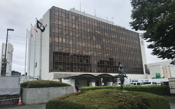 いわき市役所(福島県いわき市)