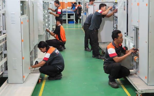日東工業は海外事業を再構築する(マレーシアの子会社工場)