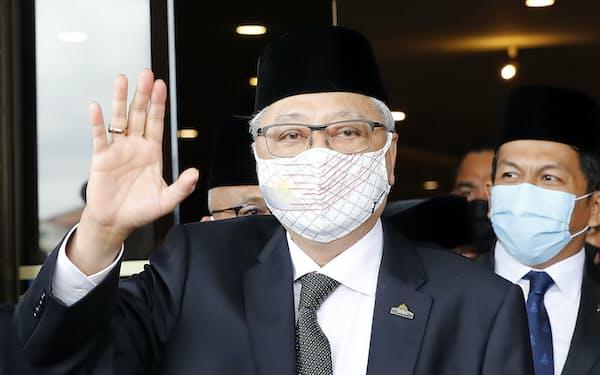 マレーシアの新首相に就任するイスマイルサブリ氏=AP