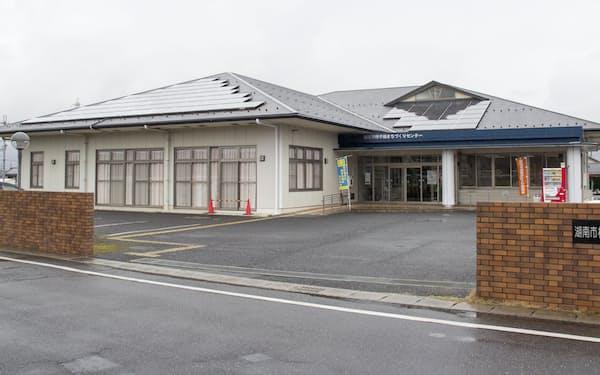 自治体への交付金で再生エネ設備を導入する(滋賀県湖南市の太陽光発電施設)=共同
