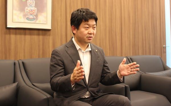 大山社長は次の稼ぎ頭の一つとしてロボット事業を強化している