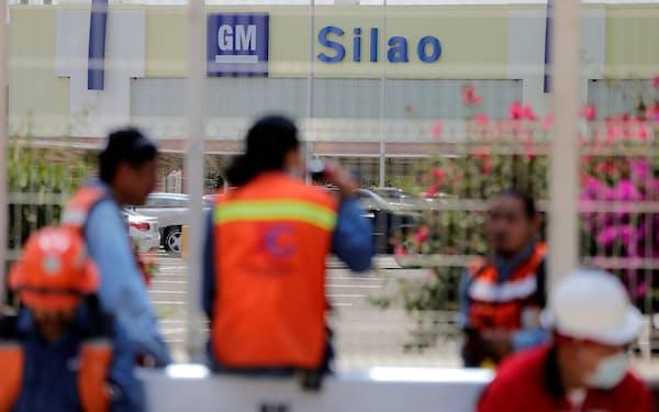 GMのシラオ工場(17日)=ロイター