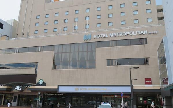 ホテルメトロポリタン秋田は接種済みの人を対象に、通常より4時間長く滞在できるプランを設けた(秋田市)