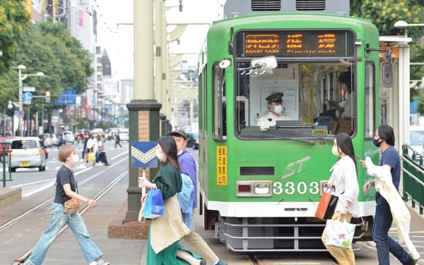 札幌市電は延伸が検討されている