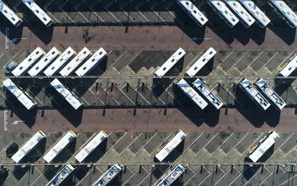 日立はEVバスの充電インフラを整備する(日立ABBパワーグリッド提供)