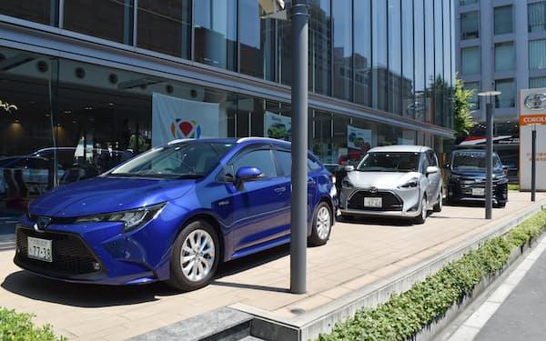 トヨタ自動車の販売店