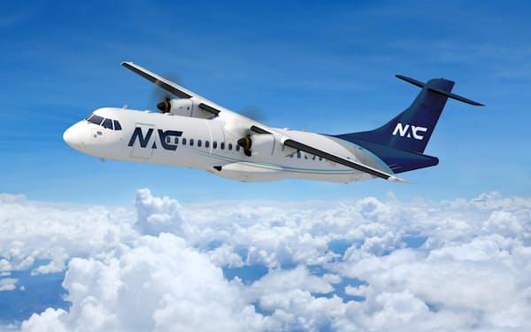 ATR72-600機は日本を含む世界各国の地域航空で導入されている