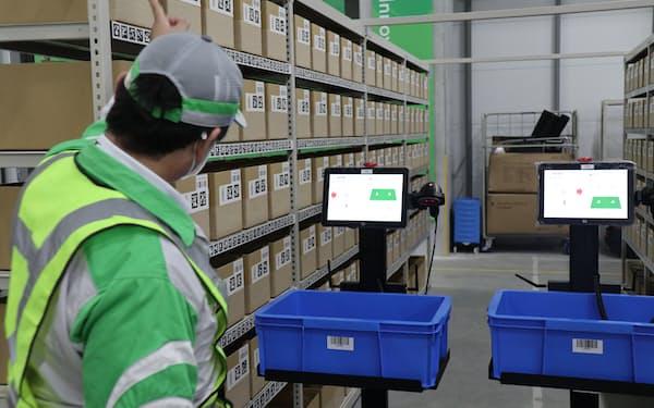 人の働く現場で有効なロボットの配置なども検証する
