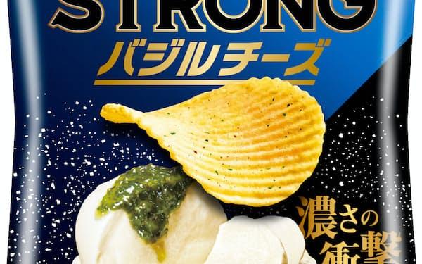 バジルとチーズを掛け合わせ、濃厚ながらすっきりとした味わい